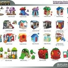 Детский Пластиковый игрушечный домик, игровая площадка для аттракционов, игровая горка, детский игровой домик, детские школы, пластиковое оборудование