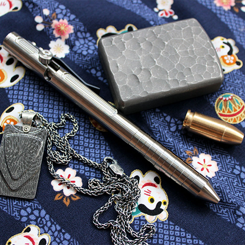 Titanium Alloy Tactical Pen Defense Weapon EDC Bolt Pen Tactical Defense Signature Pen EDC Self-defense Tactical gift jetbeam k2 titanium tactical mini pen fisher space pen self defence tool