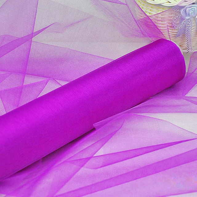 Wholesale wedding organza fabric decoration 100 meter sheer organza wholesale wedding organza fabric decoration 100 meter sheer organza swag fabric wedding decoration 18 color for junglespirit Choice Image