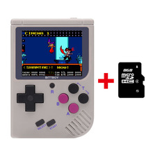 New BittBoy NES/GBC/GB Retro Handheld Game Console + 8GB MICRO SD CARD