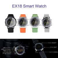 Newest Best Price Bluetooth Smart Wrist Watch Touch Screen Phone Mate For Android IOS Free Shipping NOM23