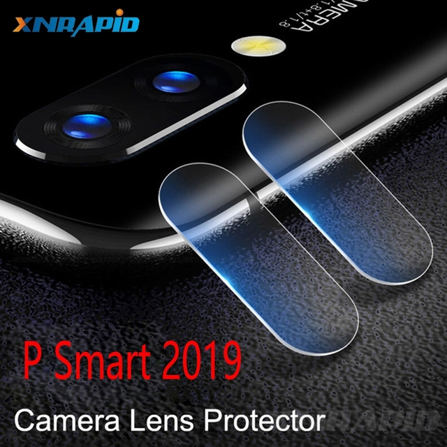 for Huawei Psmart 2019 rear camera lens toughened glass plus secretion protection glass cover on Psmart 2019 thin film glass