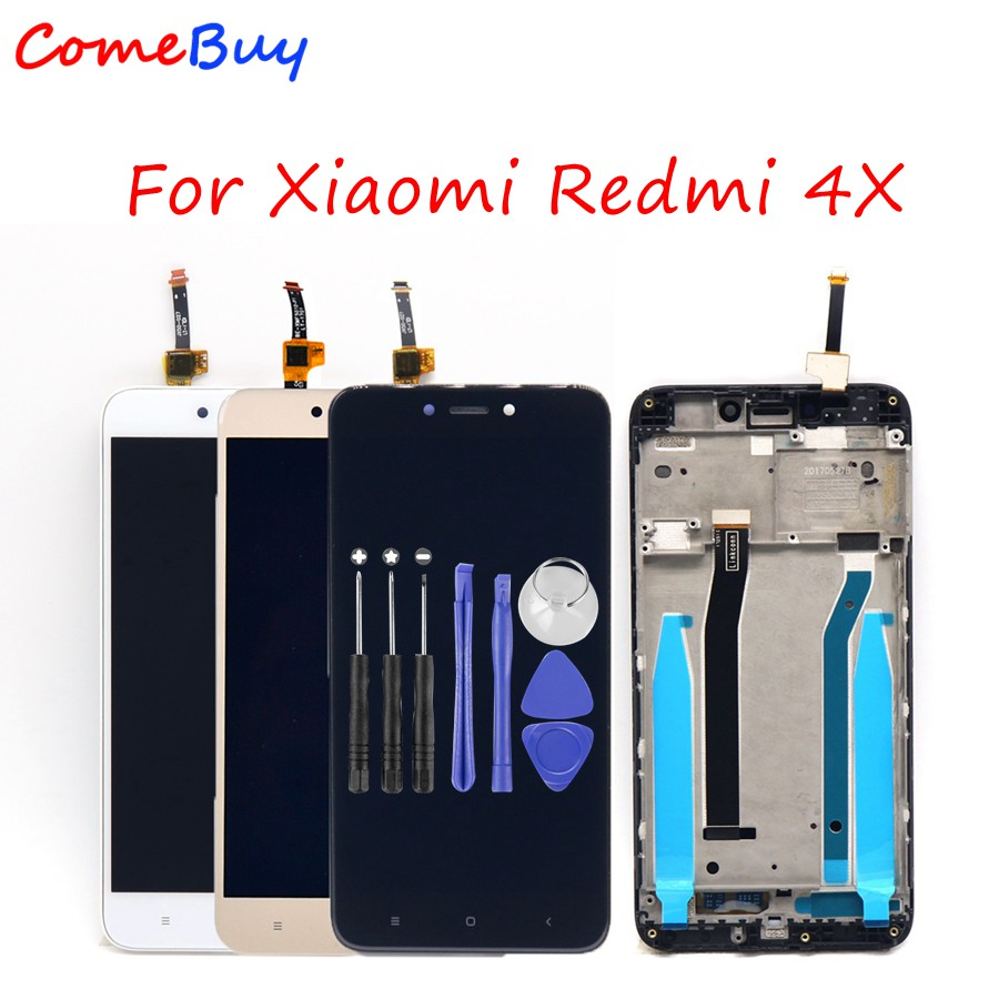 Screen For Xiaomi Redmi 4X LCD Display Touch Screen Digitizer Assembly For Xiaomi Redmi 4X LCD With Frame MAE136 MAG138 Global