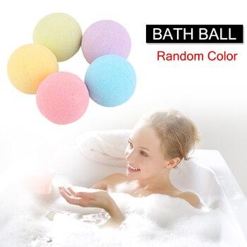 1 Pcs Organic Bath Salt Ball Natural Bubble Bath Bombs Ball Rose Green Tea Lavender Lemon Milk 669