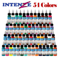 Tattoo Inks Colors 30ml 1OZ Tattoo Pigment Inks Set 54 Colors For Body Tattoo Art Kit U PICK each Colors Free Shipping