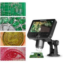 ad7db93264 1000X2 MP WiFi microscopio 4,3 HD pantalla 8 LED 1080 p Cámara lupa de