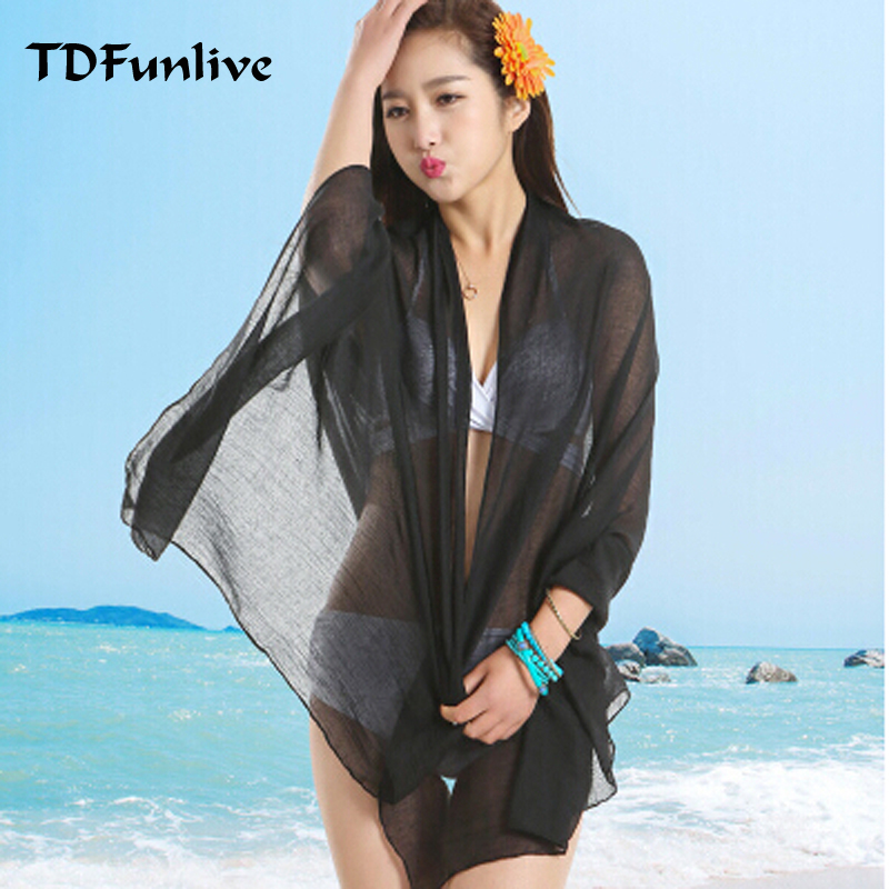 TDFunlive Doprava zdarma Sexy pláž zakryjte dámské sarong letní - Sportovní oblečení a doplňky