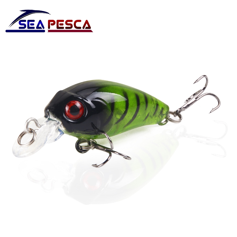 SEAPESCA Mini Plastic Bait 40mm 3.5g Minnow Fishing Lure Isca Artificial Hard Wobblers Lifelike Crankbait Japan Fish JK24 wldslure 1pc 54g minnow sea fishing crankbait bass hard bait tuna lures wobbler trolling lure treble hook