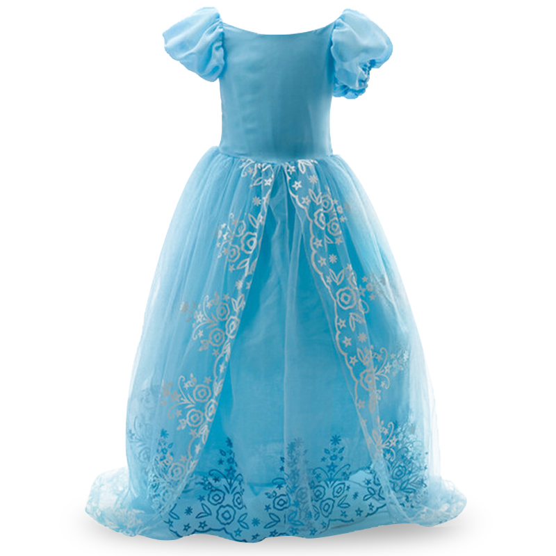 Christmas Girls Cinderella ELSA dress party princess costume fever cosplay elsa dresses, girls Kids dance lace cape dress girls party dress elsa anna princess costume christmas winter cinderella cosplay vestido long kids tutu festa infantil ball gown