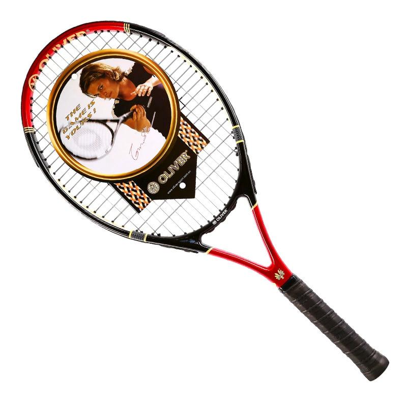 Pflichtbewusst Oliver Tennis Schläger Professionelle Mit Carbon Aluminium Legierung Raquete De Raquetas De Tenis Tennisschläger Power 230 Zur Verbesserung Der Durchblutung