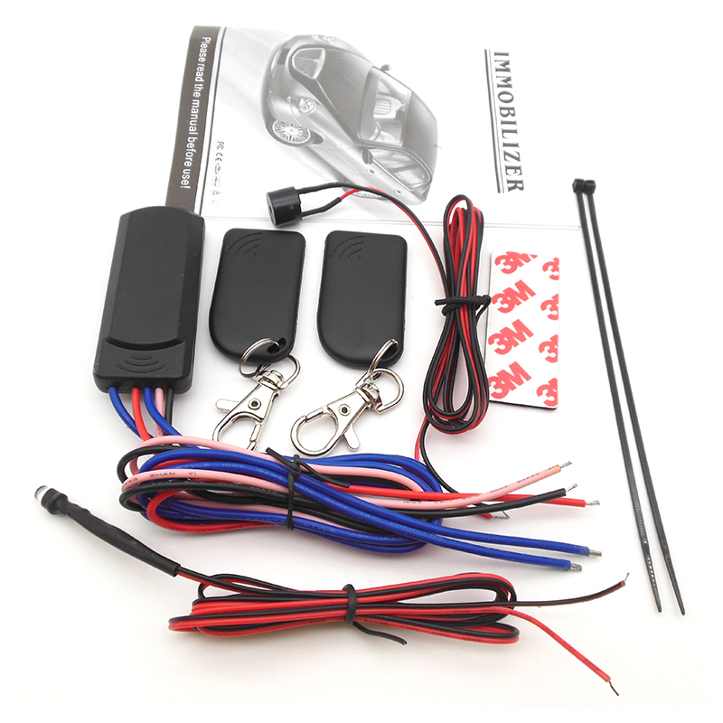 RFID 2.4 GHz Wireless Car Immobilizer 12V Wireless Car Immobilizer Anti-hijacking On And Off Intelligent Anti-hijacking