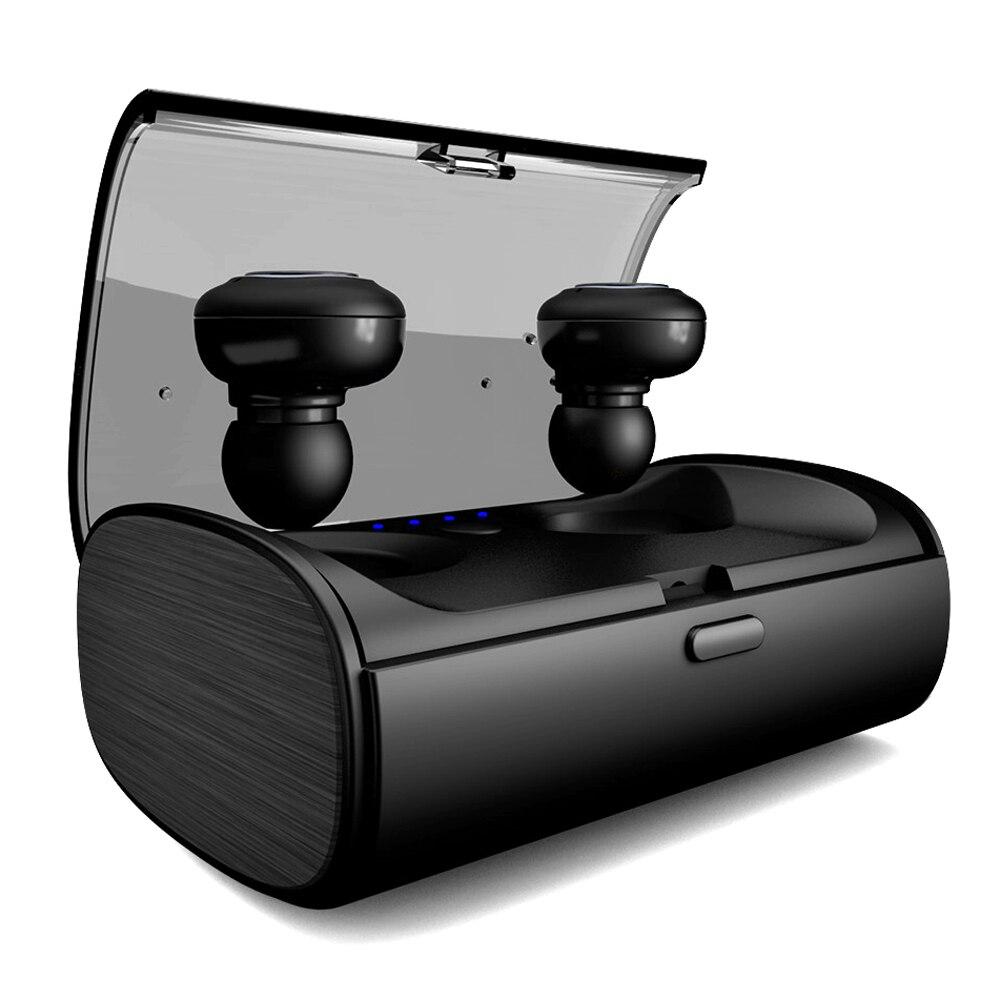V09A True TWS écouteurs sans fil casque Bluetooth Mini écouteurs intra-auriculaires écouteurs Sport haute capacit2 de batterie externe anti-transpiration