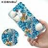 Kogngu Luxury Rhinestone Silicone Bumper for Xiaomi Redmi Note 4 Case Crystal Diamond Bling for Xiaomi Redmi Note 4 Phone Cover
