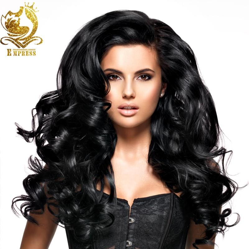 Glueless Full Lace Hair Wigs For Black Women Virgin -9404