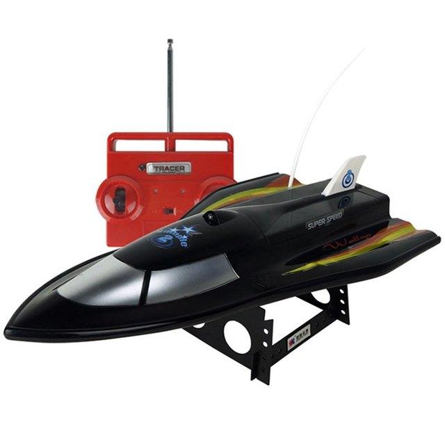Diseño de la forma 2016 de ALTA SPEPD CT3362 Flying Fish Barco DEL RC 2.4 GHz 3CH Dual-motor Impermeable anti-jaming aerodinámico Juguetes Al Aire Libre