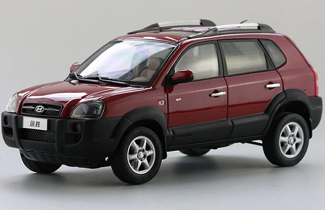 2015 Hot Sell Hyundai Tucson 1 18 Alloy Car Model In Diecasts Toy
