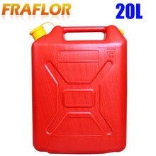 Топливный бак 20л литров запасных пластиковых банок дизельный контейнер для бензина с масляной трубой бак для Jeep Wrangler автомобильный аксессуар