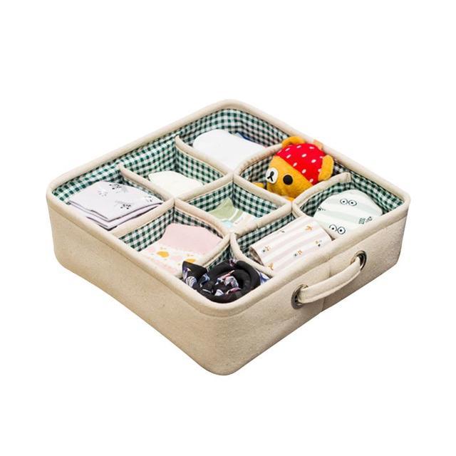 Underbed Storage Drawer Organizer Under Bed Container Bra Clothes Underwear Socks Box Closet Dresser