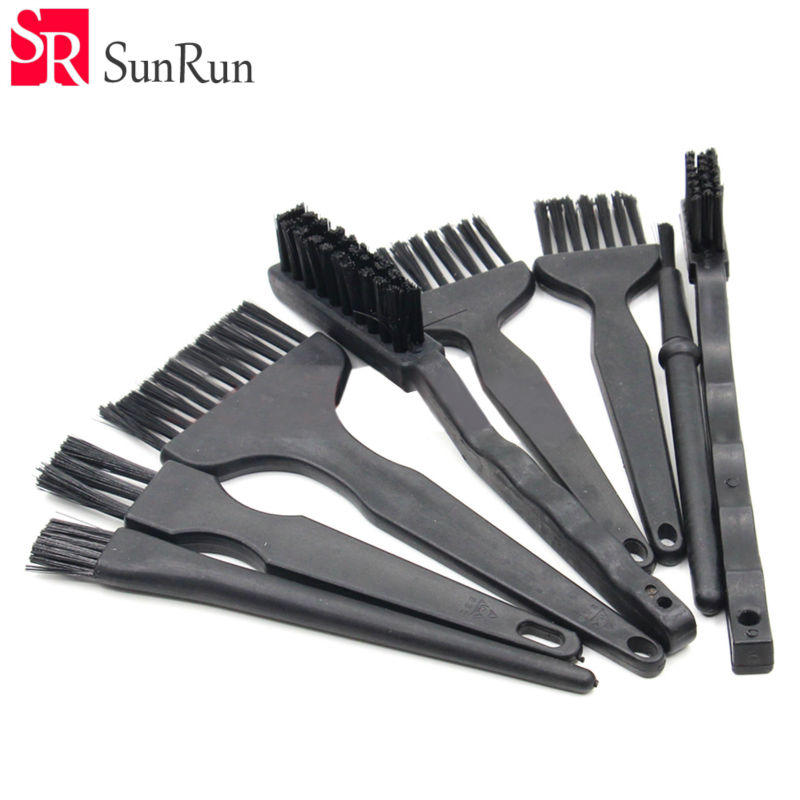 Brush 8pcs/set Esd Brush Electronic Component Cleaning Tools For Bga Rework Pcb Clean Hand Tools