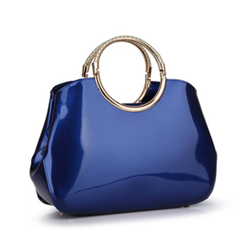 New High Quality Patent Leather Women bag Ladies Cross Body messenger Shoulder Bags Handbags Women Famous Brands bolsa feminina 2018 new designer retro genuine leather bags handbags women famous brands ladies office work bag messenger clutch bolsa feminina