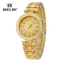 BELBI Retro Women Wristwatch Elegant Diamond Creative Ladies