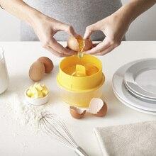 Яичный сепаратор яичный белый желток изолированный яичный белок фильтр разделительный Кухонные гаджеты