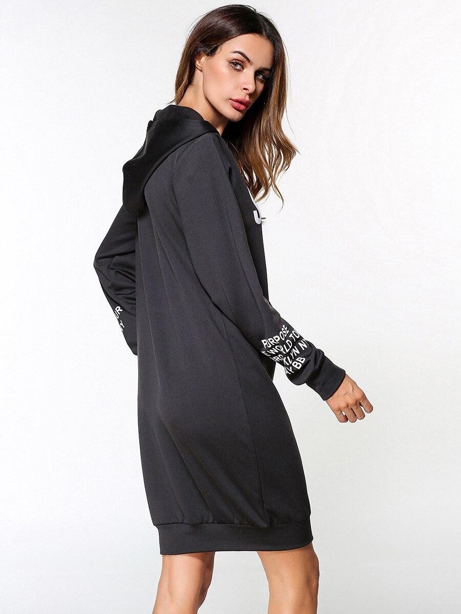 À Tops Hiver Impression Automne 185331Chaude Sweatershirts Hoodies Lettre Manches Longues Femmes EYWHIe29D