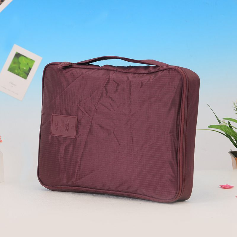 ecc2d175642 Versión coreana de La multi-función impermeable viaje camisa y corbata ropa  organizan admisión