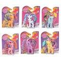 8cm My Little Pony toys rainbow power Twilight Sparkle Rainbow Dash Rarity birthday party gift PVC Action Figure Toys