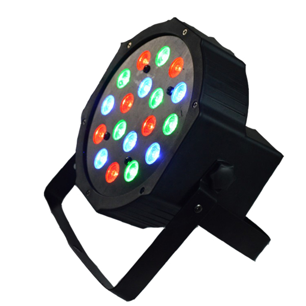 Free Shipping China Cheap 18 Pcs 3w Mini Flat Led Party Light For Sale In Stage Lighting Effect