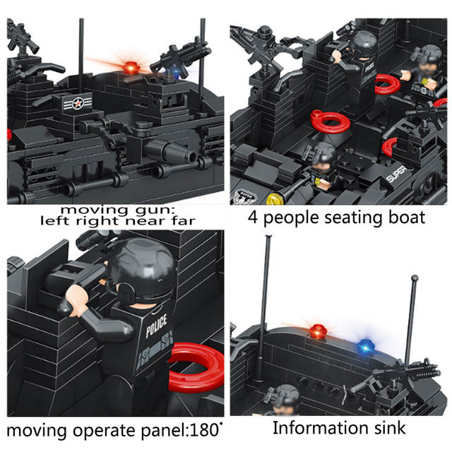 Qunlong Toys Military Army Building Blocks Compatible Legoe