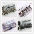 Multi size assortment Metal General Tools & Instruments DIY Sewing Press Studs Buttons Snap Fastener 004010005(1)