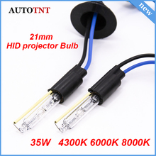 2pcs AC 12v 35w  21mm Auto HID xenon Bulbs for 3.0 Inch Koito Q5 Bi projector lens headlight