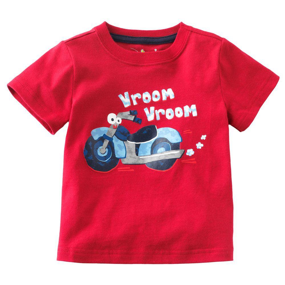 Hot Brands 100% cotton 2016 new Children T shirt boys ...