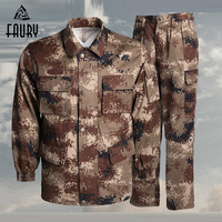 Desert Camouflage Tactical Uniform Sets Clothing Men Women Army Jungle Summer Forest Land Winter Training Suit Militar Airsoft