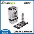 100% Original OBS ACE Tanque 4.5 ml com 0.85 Bobina de Cerâmica ou Com a OBS ACE Atomizador RBA Bobina