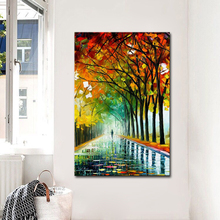 Best New Picture Painting Abstract Oil Paintings on Canvas 100%Handmade Colorful Art Modern for Home Wall Decor