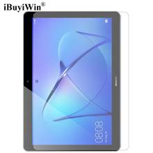 iBuyiWin 9H Tempered Glass Screen Protector Film for Huawei MediaPad T3 10 9.6 AGS-L09 AGS-L03 AGS-W09 Honor Play Pad 2 9.6 inch