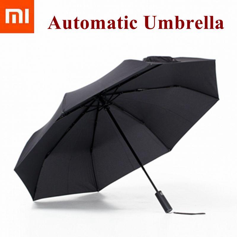 2018 Xiaomi Mijia อัตโนมัติ Sunny Rainy ร่มอลูมิเนียม Windproof กันน้ำ UV ร่มหญิงฤดูร้อนหญิงฤดูหนาว-ใน รีโมทคอนโทรลอัจฉริยะ จาก อุปกรณ์อิเล็กทรอนิกส์ บน AliExpress - 11.11_สิบเอ็ด สิบเอ็ดวันคนโสด 1