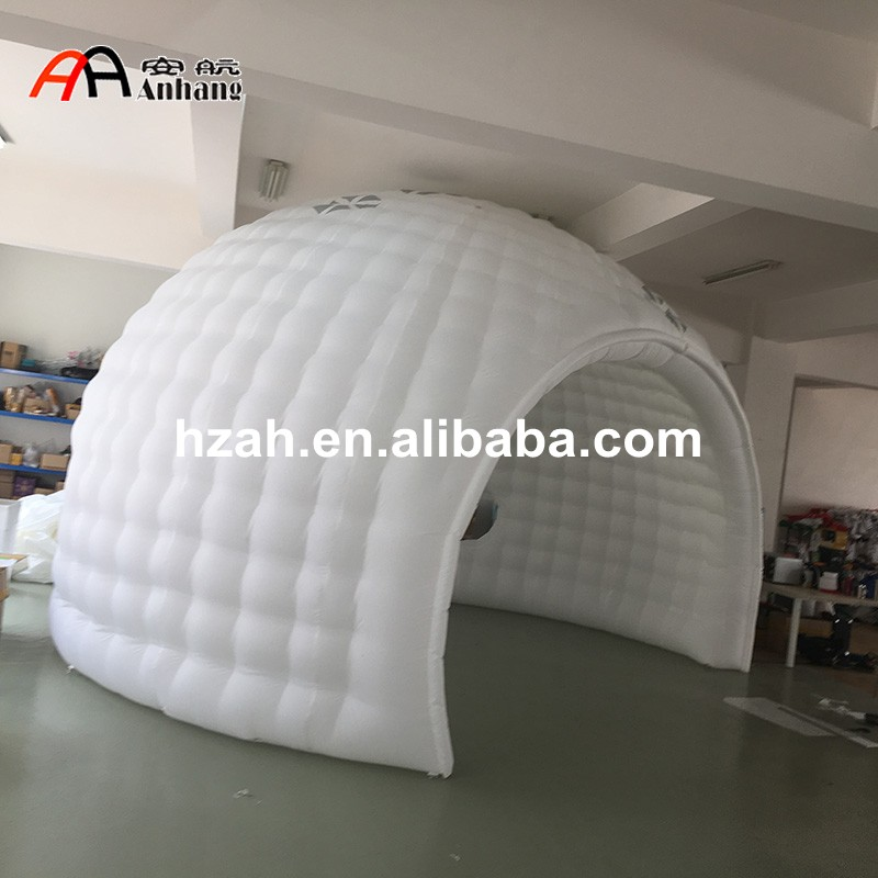 Inflatable Tent Furniture: Customized Inflatable Golf Dome Tent For Outdoor Sports-in
