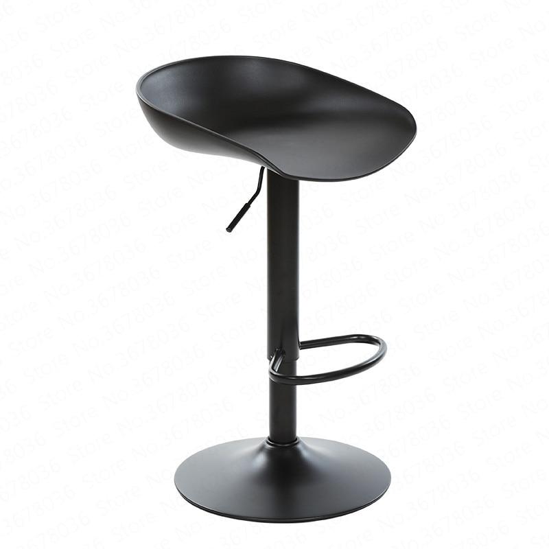 European Fashion Bar Chair Counter Front Mobile Phone Shop Business Hall Cashier Elevator Retro High Stool Mall Chair