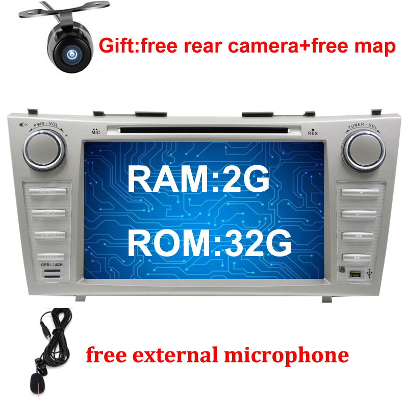 8″ 2G RAM 32G ROM Android 6.0 Car DVD Player For Toyota Camry 2007 2008 2009 2010 car radio gps stereo tape recorder