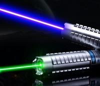 532nm lazer pointer 5 yıldızlı kapaklar ile gerçek 10000 mw yeşil kırmızı lase kalem Odaklanabilir 450nm 50000 mw mavi lazer pointer toptan LAZER