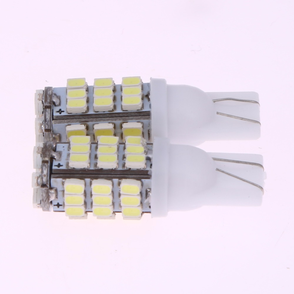 2Pcs Car Interior Light Bulb W5W T10 1206 42 SMD Auto Led Instrument/Parking/License Plate/Trunk Llight-emitting Diode Lamp