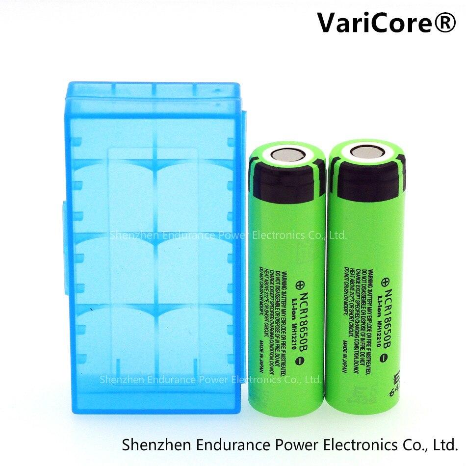 2 pcs .. 100% New Original for Panasonic 18650 3.7V 3400 mAh battery Lthium NCR18650B industrial equipment used