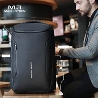 Mark Ryden 2019 New Anti thief Fashion Men Backpack Multifunctional Waterproof 15.6 inch Laptop Bag Man USB Charging Travel Bag