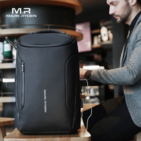 Mark Ryden 2019 New Anti thief Fashion Men Backpack Multifunctional Waterproof 17.3 inch Laptop Bag Man USB Charging Travel Bag