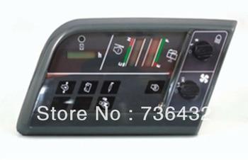 Free shipping! Komatsu excavator PC60-7 monitor 7834-73-2002 7834-73-2001for Komatsu Excavator display screen