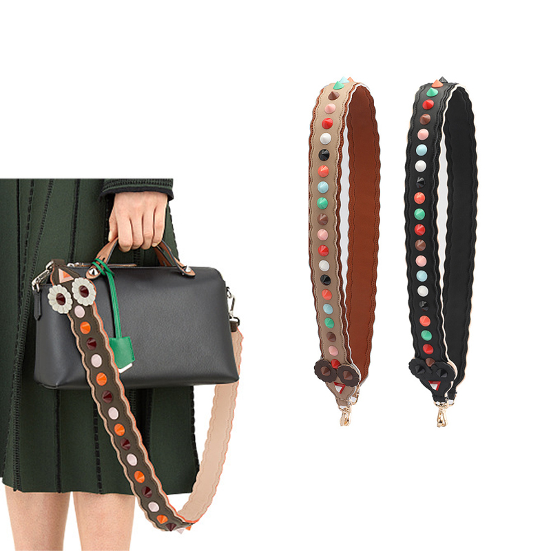 AUTEUIL PARIS Spring Summer Bag Accessories Strap You Women Bag Strap Split Leather Rivet Shoulder Strap New Arrival ES010AUTEUIL PARIS Spring Summer Bag Accessories Strap You Women Bag Strap Split Leather Rivet Shoulder Strap New Arrival ES010