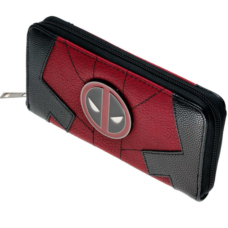 Deadpool Juniors Suit Up Zip Around Wallet Women Purse DFT-1991